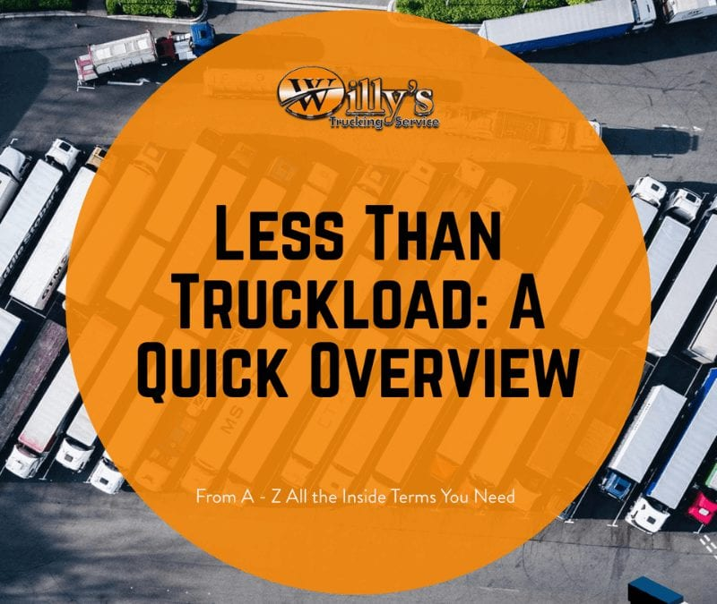 Less Than Truckload: A Quick Overview