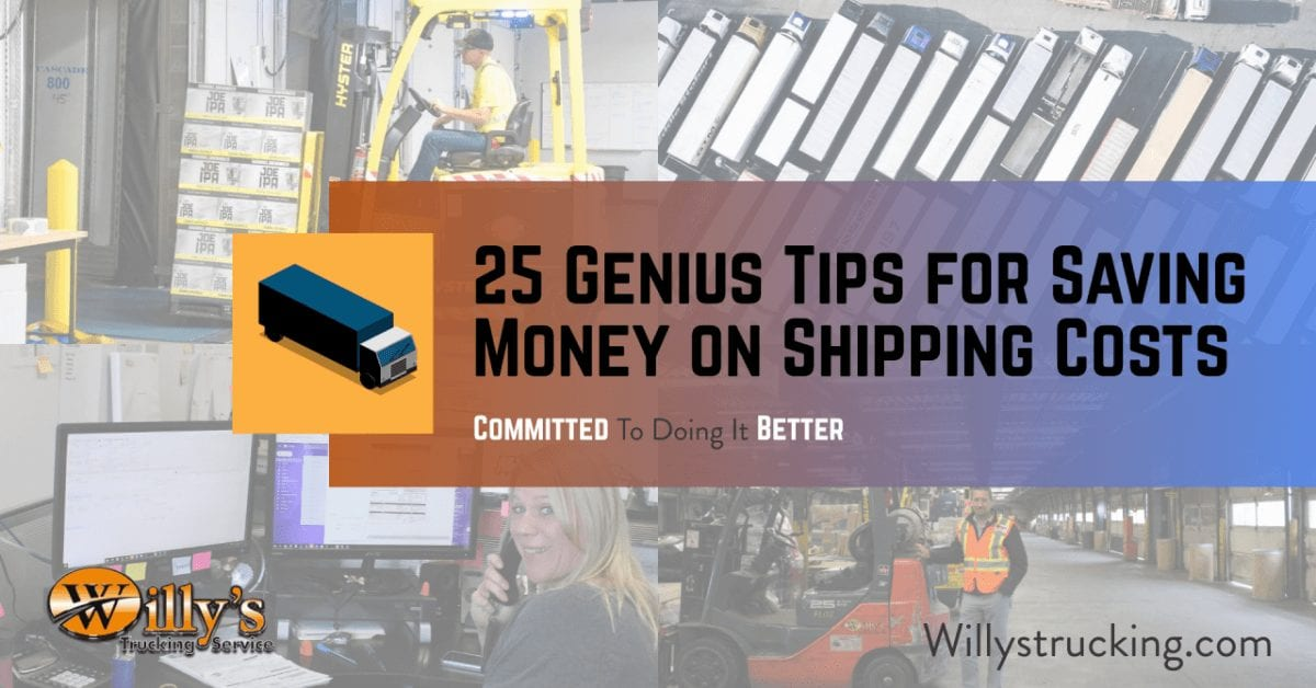 25 Genius Tips for Saving Money on Shipping Costs